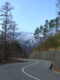 góry drogowe obraz stock