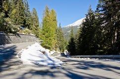 Góry drogowe Fotografia Stock