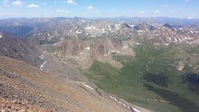 Góry Elbert widok Zdjęcie Royalty Free