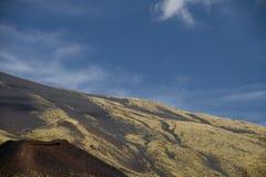 Góry Etna sceneria Zdjęcie Stock
