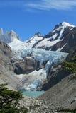 Góry Fitz Roy lodowiec Zdjęcia Royalty Free