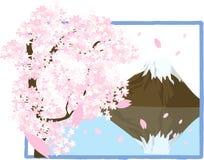 góry fuji ilustracja wektor