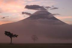 góry fuji ii wschód słońca Obrazy Stock