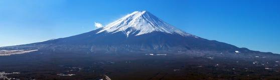 Góry Fuji panorama Zdjęcia Royalty Free