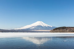 Góry Fuji Yamanaka Lukrowy jezioro Fotografia Stock