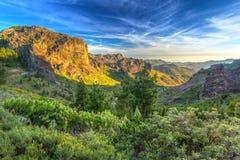 Góry Granu Canaria wyspa Zdjęcia Royalty Free