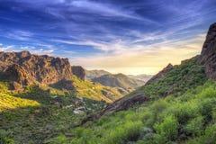 Góry Granu Canaria wyspa Fotografia Stock
