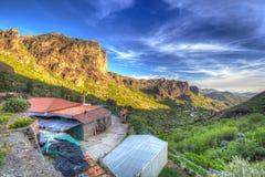 Góry Granu Canaria wyspa Obraz Royalty Free
