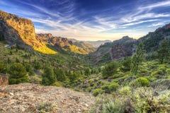 Góry Granu Canaria wyspa Zdjęcie Stock