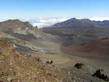 Góry Haleakala Maui wulkan Hawaje Obrazy Royalty Free