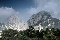Góry Hua żniwa pracownik Obrazy Royalty Free