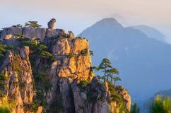 Góra Huangshan Obrazy Royalty Free