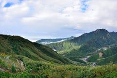 Góry i chmury w Hsinchu, Tajwan Obraz Royalty Free