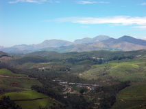 Góry i doliny Fotografia Royalty Free