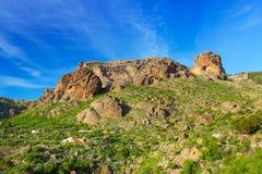 Góry i doliny Granu Canaria wyspa Obraz Stock