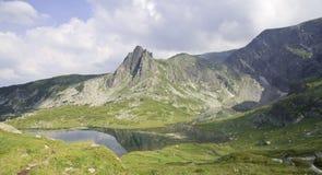 Góry i halni jeziora w Bułgaria Obrazy Stock