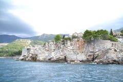 Góry i morze Zdjęcie Stock