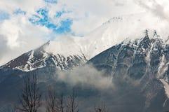 Góry i śnieg Zdjęcia Stock