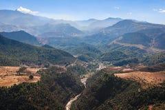 Góry i oaza w południowym Maroko Zdjęcie Stock