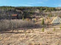 Góry i pola w Kolorado zdjęcie royalty free