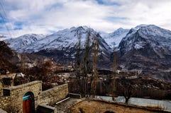 Góry i szczyty Obrazy Royalty Free