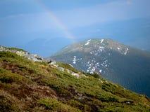 Góry i wzgórza Obrazy Stock
