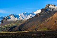Góry Islandia fotografia stock