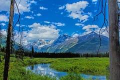 Góry Jak Widzieć Od Camas zatoczki fotografia royalty free