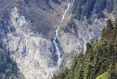 Góry Juneau siklawy Zdjęcie Royalty Free