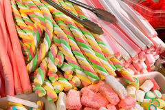 Góry karmel cukierki. Fotografia Royalty Free