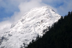 góry kaskadowe północne Obrazy Royalty Free