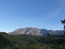 Góry Kinabalu widok, Sabah, Borneo, Malezja zdjęcia royalty free