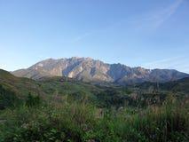 Góry Kinabalu widok, Sabah, Borneo, Malezja fotografia royalty free