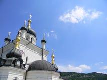góry kościelne Zdjęcia Stock