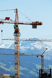 góry konstrukcyjne Obrazy Stock