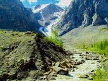 Góry krajobrazowa mozaika taflująca Obrazy Stock