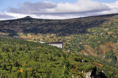 Góry Krkonose Obrazy Stock