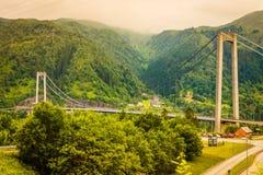Góry kształtują teren w Norwegia obraz stock