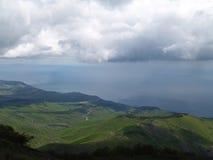 Piękny góra krajobraz Zdjęcie Royalty Free