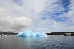 Góry lodowa laguna Zdjęcia Stock