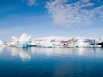 Góry lodowa Na morzu obraz royalty free