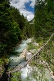 Góry lodowa rzeka Zdjęcie Stock
