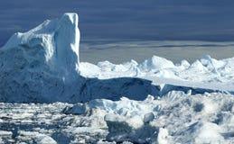 Góry lodowa w Greenland 21 Obrazy Stock