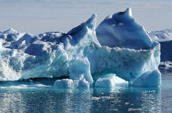 Góry lodowa w Greenland 26 Obraz Stock