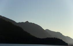 Góry lubią smoka i Brezhnev Zdjęcia Stock