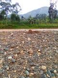 Góry manafwa okręg zdjęcia royalty free