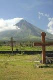 góry mayon wulkan Philippines zdjęcie royalty free