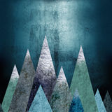 Góry - miejsce przygoda bezszwowy Fotografia Stock