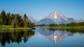 Góry Moran panorama Zdjęcie Royalty Free