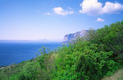 góry morskie Fotografia Royalty Free